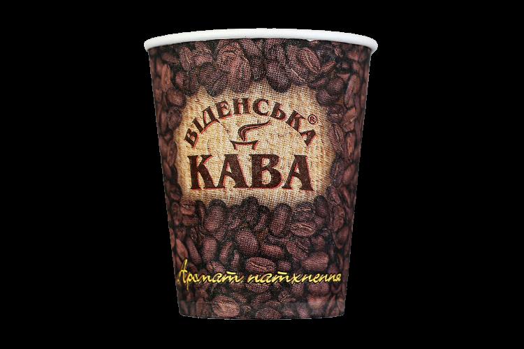 Стакан с логотипом Віденська кава 250мл