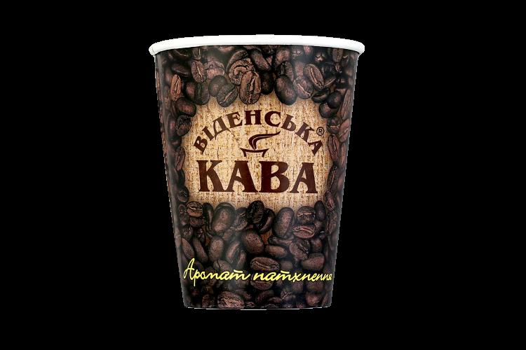 Стакан с логотипом Віденська кава175мл