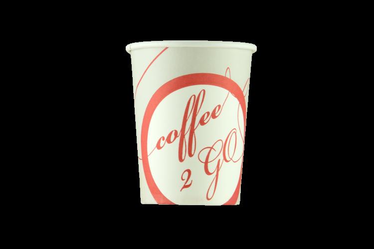 Стакан с логотипом coffe to go 175мл